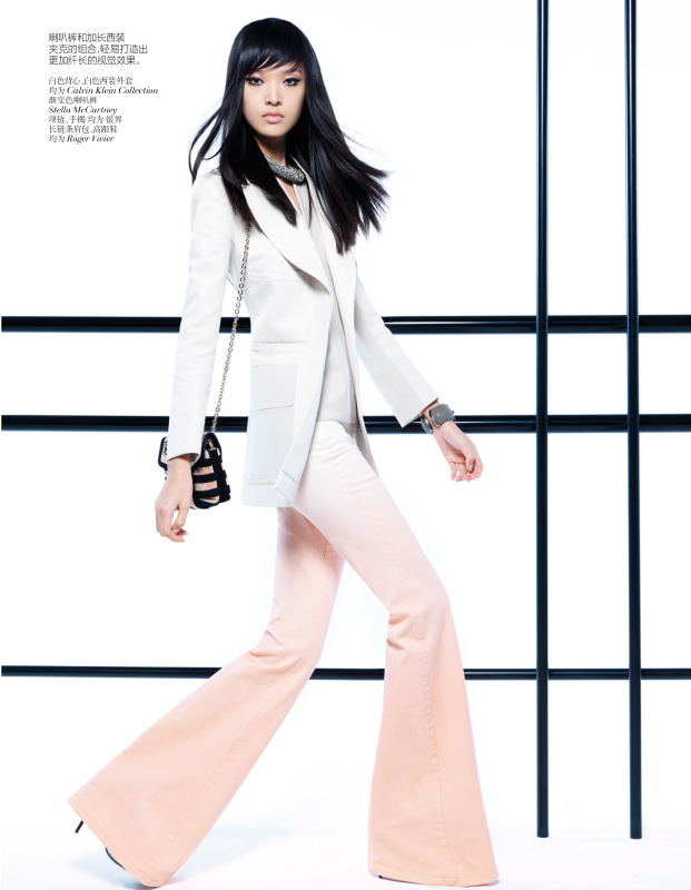 StocktonJohnson VogueChina Jan2013 TianYi ModernPastel 2 Tian Yi Looks Resort Ready in Vogue Chinas January 2013 Issue by Stockton Johnson