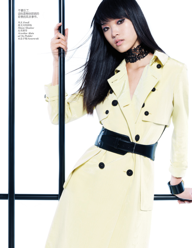StocktonJohnson VogueChina Jan2013 TianYi ModernPastel 6 Tian Yi Looks Resort Ready in Vogue Chinas January 2013 Issue by Stockton Johnson