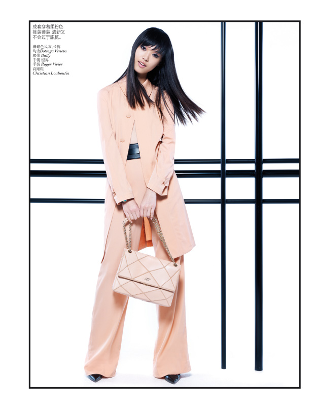 StocktonJohnson VogueChina Jan2013 TianYi ModernPastel 8 Tian Yi Looks Resort Ready in Vogue Chinas January 2013 Issue by Stockton Johnson