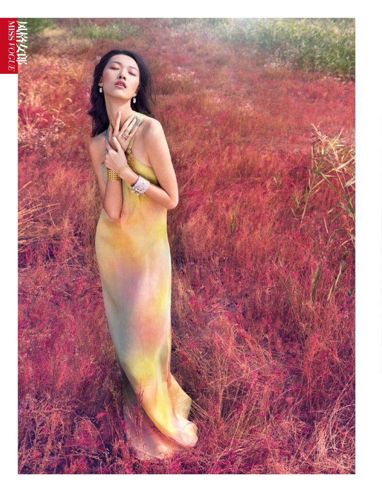 StocktonJohnson VogueChina Jan2013 TianYi RomanticPastel 3 Tian Yi is a Pastel Dream in Vogue China January 2013 by Stockton Johnson