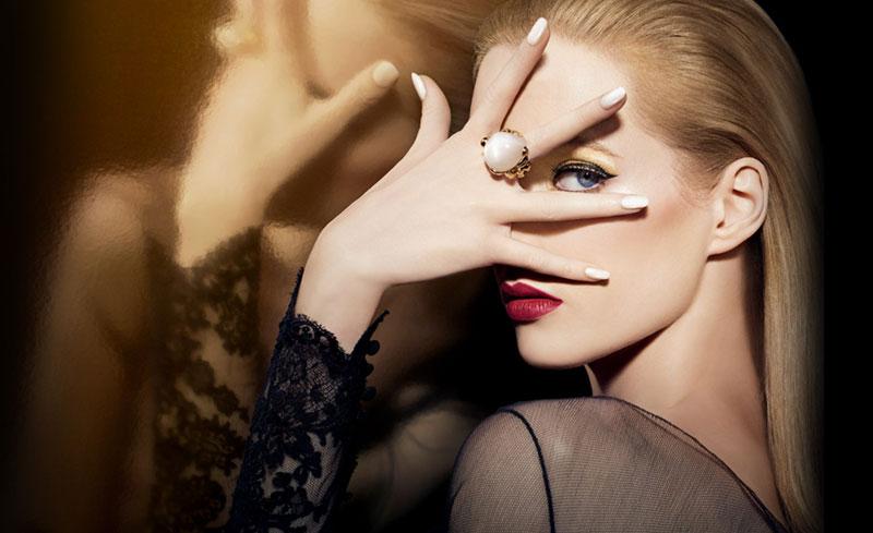 "Daria Strokous for Dior ""Grand Bal"" Christmas Makeup Collection 2012"