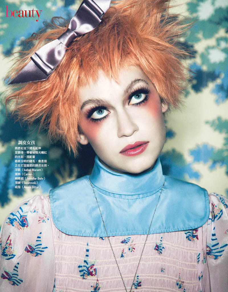 VogueDolls3 Shane Seng Gets Dolled Up for Vogue Taiwan by Yossi Michaeli