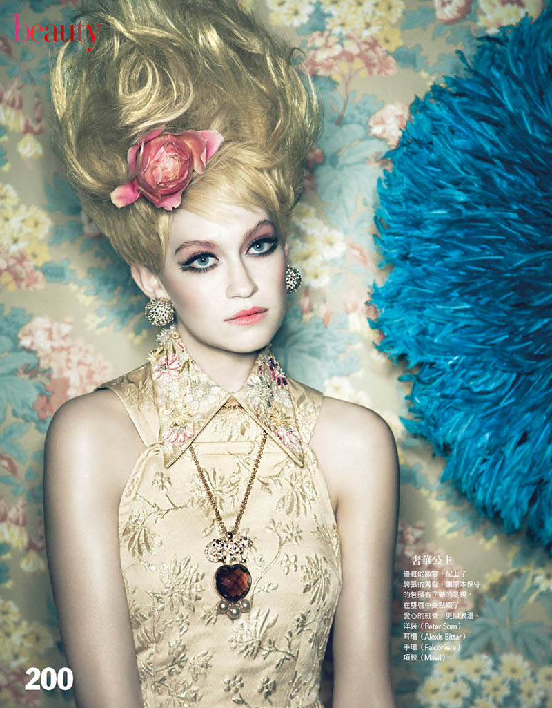 VogueDolls4 Shane Seng Gets Dolled Up for Vogue Taiwan by Yossi Michaeli