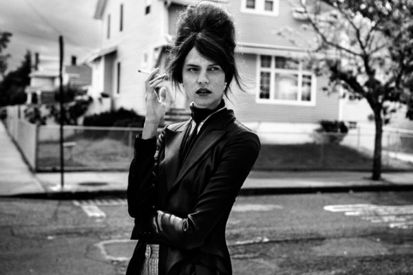 Egle Tvirbutaite is Suburban Chic for Vogue.it by Paolo Di Lucente