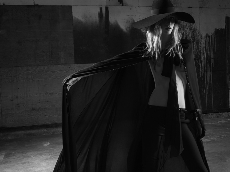 YSL2 Saint Laurent Taps Julia Nobis for its Spring 2013 Campaign by Hedi Slimane
