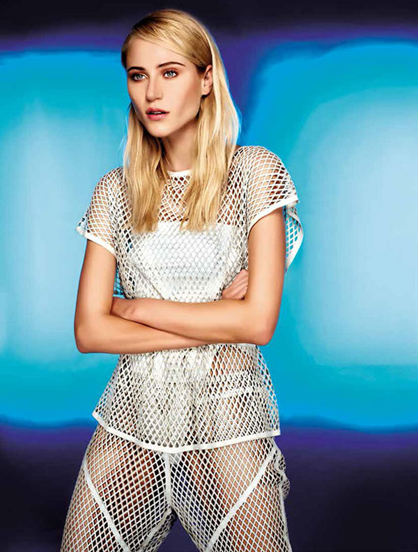 alicia5 Alicia Kuczman Wears Sporty Looks for the LOfficiel Brazil December/January Cover Shoot