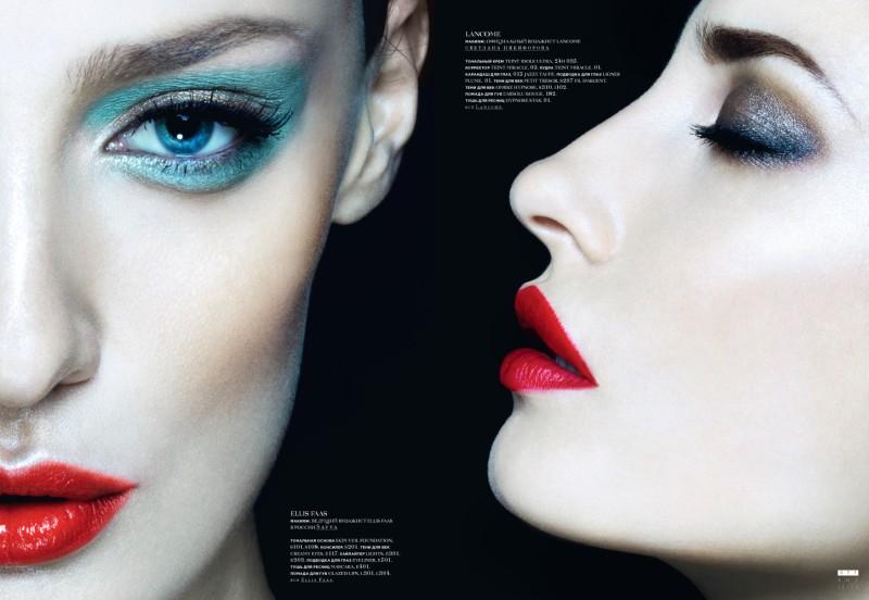 Nikolay Biryukov Lenses Bold Beauty Looks for SnC Magazine's December Issue