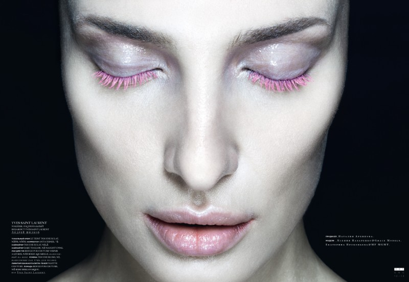beauty snc4 Nikolay Biryukov Lenses Bold Beauty Looks for SnC Magazines December Issue