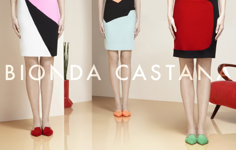 Bionda Castana's Spring/Summer 2013 Campaign is All About the Shoes