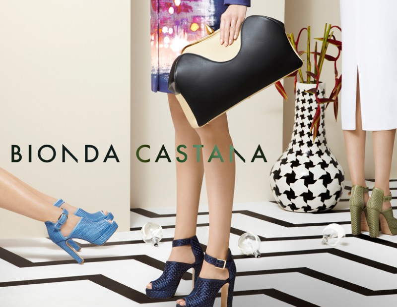 bionda4 Bionda Castanas Spring/Summer 2013 Campaign is All About the Shoes