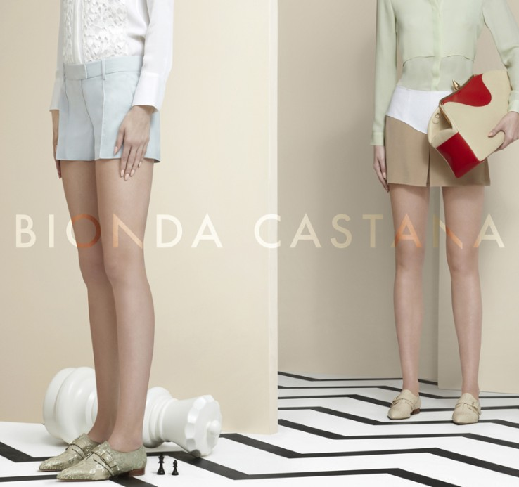 bionda9 Bionda Castanas Spring/Summer 2013 Campaign is All About the Shoes