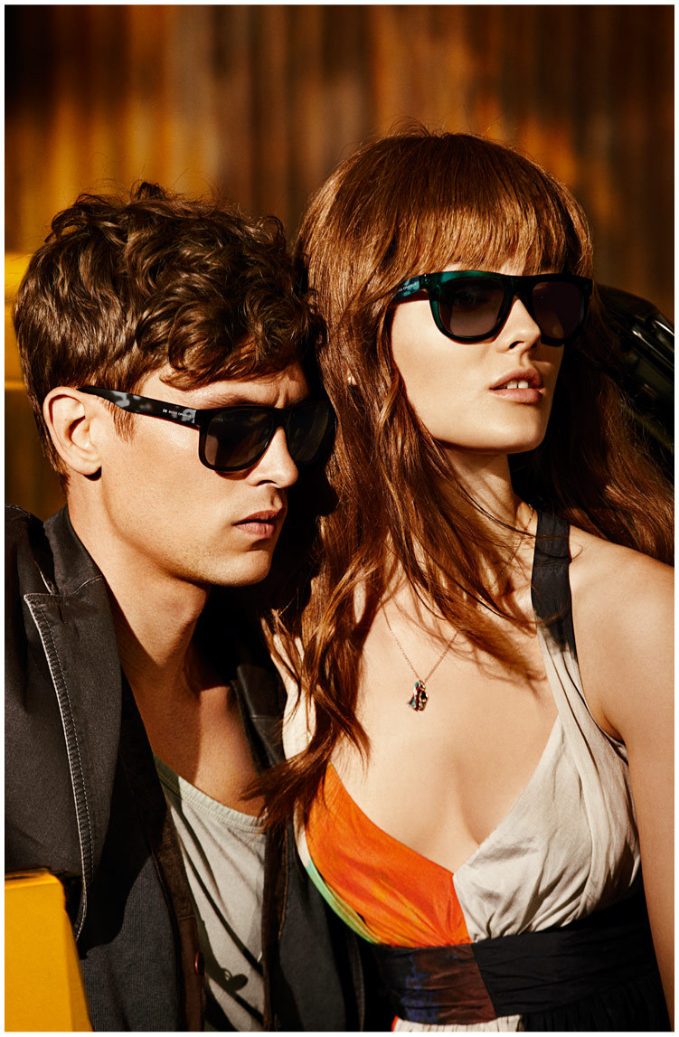 boss orange1 Jac Jagaciak Cruises for Hugo Boss Oranges Spring 2013 Campaign by Dan Martensen