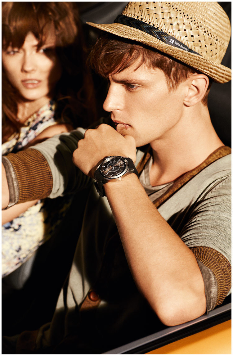 boss orange3 Jac Jagaciak Cruises for Hugo Boss Oranges Spring 2013 Campaign by Dan Martensen