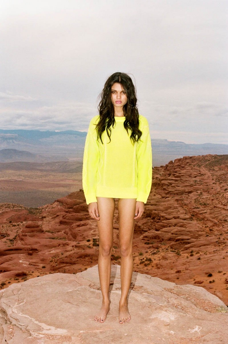 braga 02 796x1200 Daniela Braga Rocks Colorful Style for Nasty Gals Pre Spring 2013 Lookbook