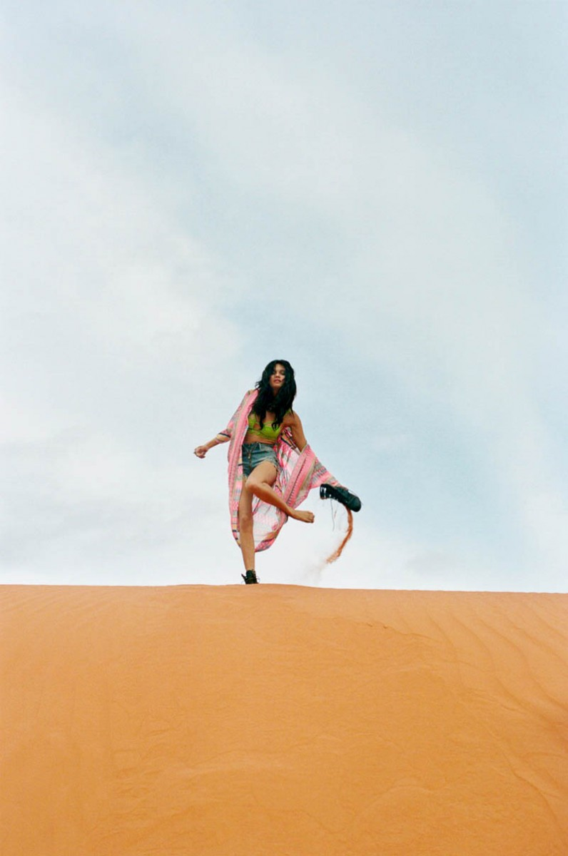 braga 18 796x1200 Daniela Braga Rocks Colorful Style for Nasty Gals Pre Spring 2013 Lookbook