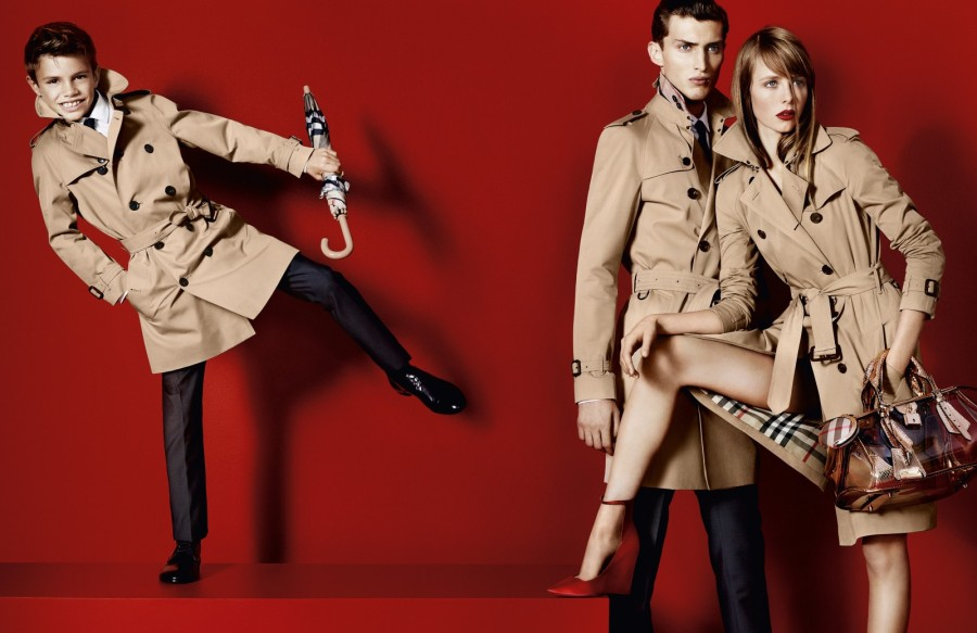 burberry Edie Campbell Lands Burberrys Spring 2013 Campaign, Shot by Mario Testino