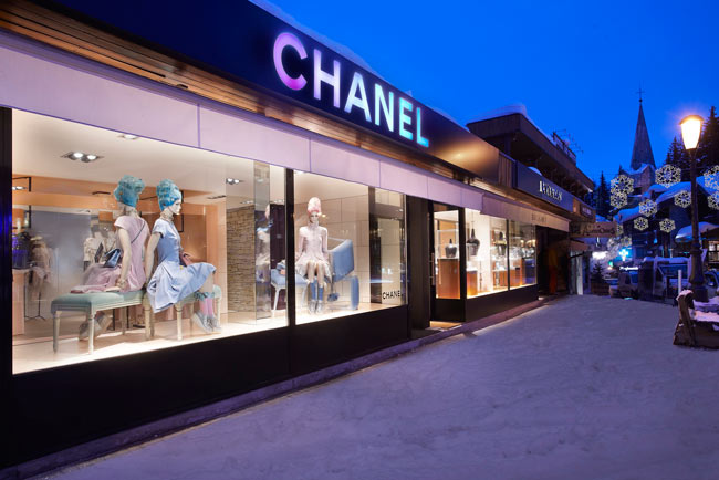 chanel2 Chanel Releases Limited Edition Boy Bag for Courchevel Boutique
