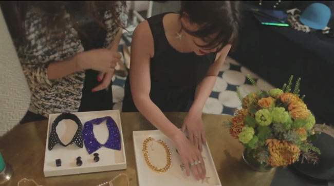 daisy3 Daisy Lowe Selects Party Looks from H&M in New Video