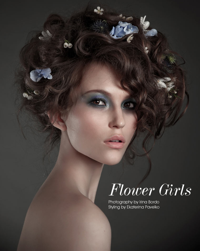 flower Flower Girls by Irina Bordo for Fashion Gone Rogue