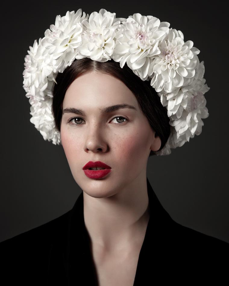"""Flower Girls"" by Irina Bordo for Fashion Gone Rogue"