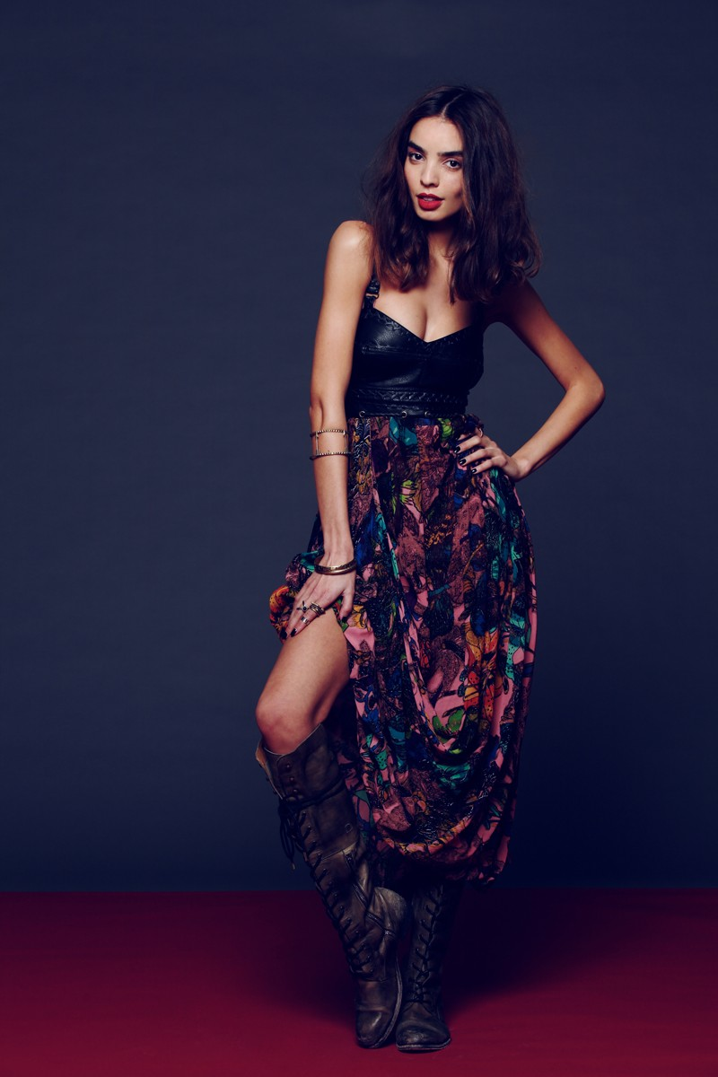 Free People Taps Sabrina Nait for its New Year's Eve Lookbook