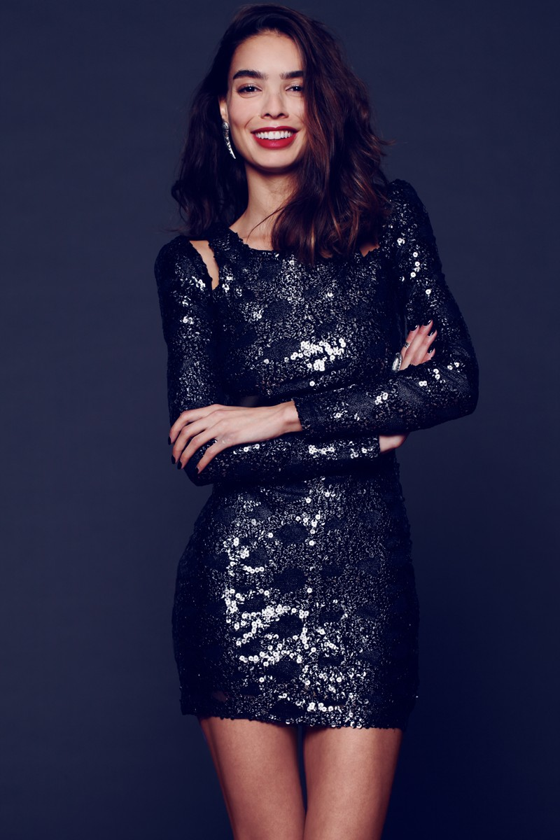 fp dress2 Free People Taps Sabrina Nait for its New Year's Eve Lookbook