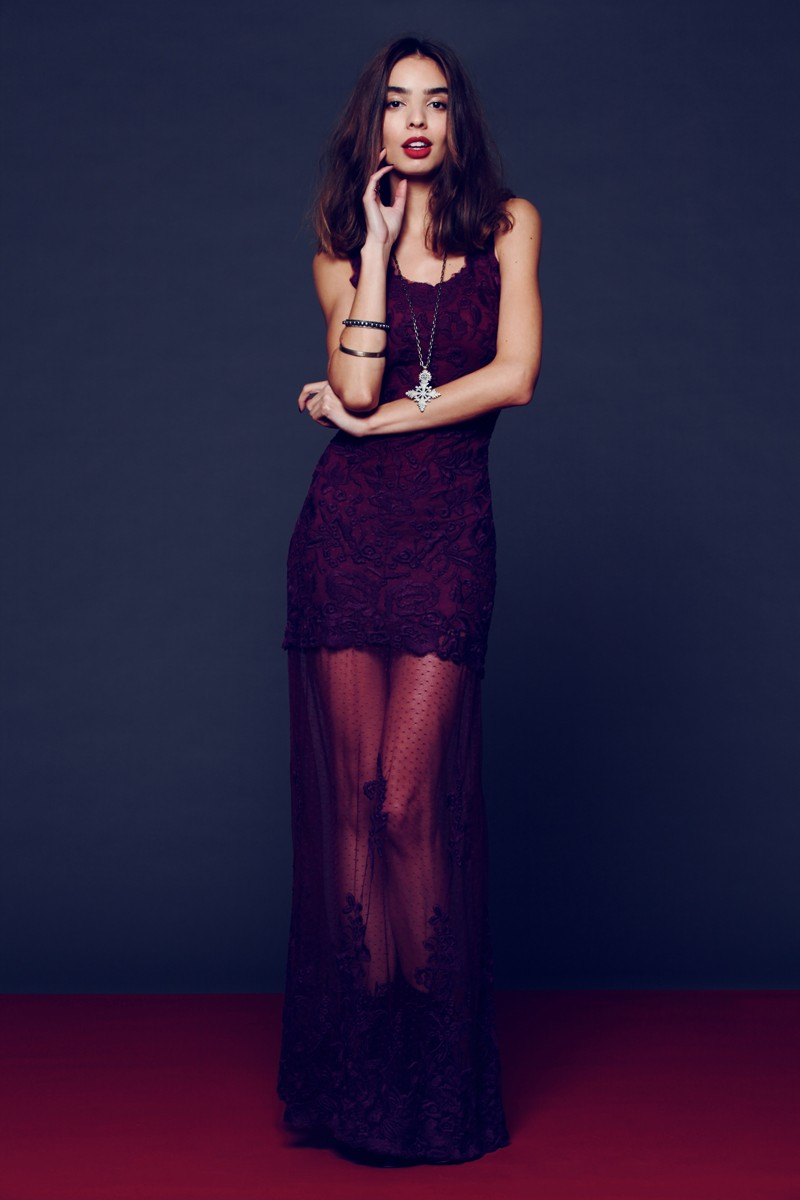 fp dress3 Free People Taps Sabrina Nait for its New Year's Eve Lookbook