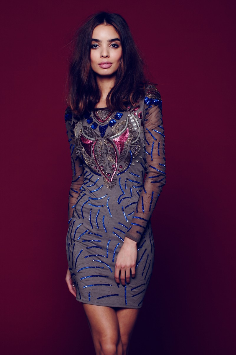fp dress6 Free People Taps Sabrina Nait for its New Year's Eve Lookbook