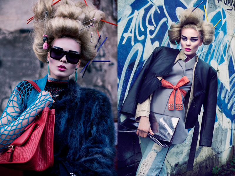 geisha2 Lovisa Axelsson Hager by Ninja Hanna in Punk Geisha for Fashion Gone Rogue