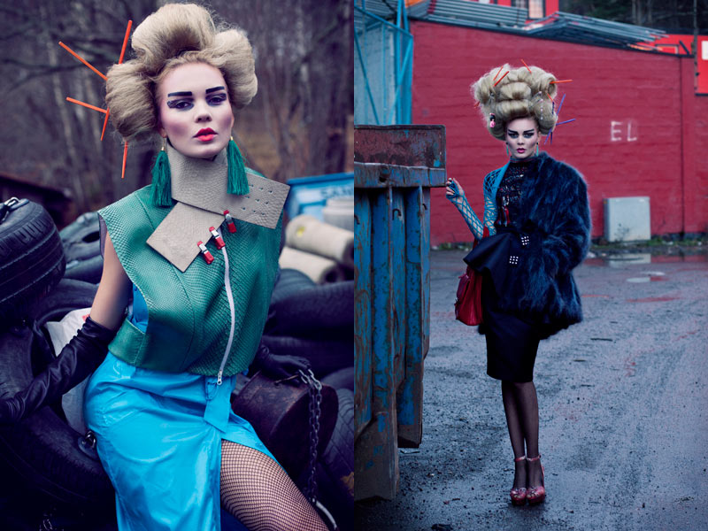geisha5 Lovisa Axelsson Hager by Ninja Hanna in Punk Geisha for Fashion Gone Rogue