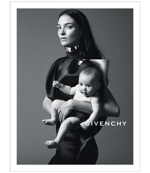 givenchy Mariacarla Boscono Poses with Her Daughter in Givenchys Spring 2013 Campaign by Mert & Marcus