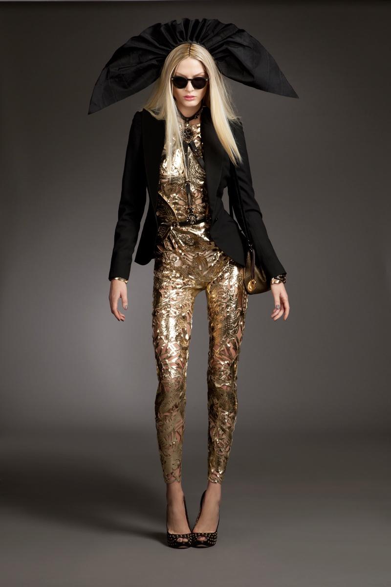 Viktoria Sekrier Rocks Opulent Style for Gloss Slovenia by Jenny Brough