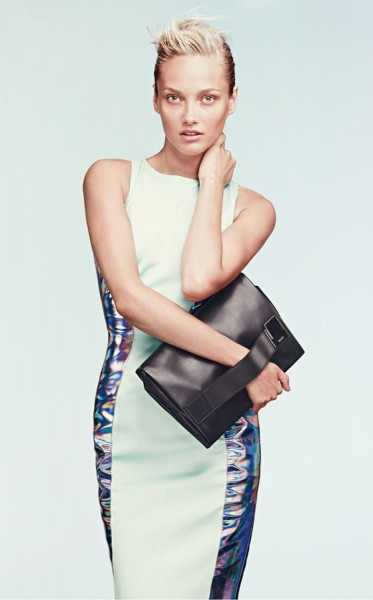 Karmen Pedaru Lands the Hugo by Hugo Boss Spring 2013 Campaign