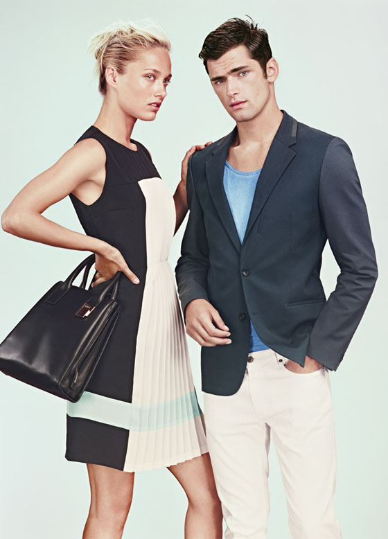 hugo2 Karmen Pedaru Lands the Hugo by Hugo Boss Spring 2013 Campaign