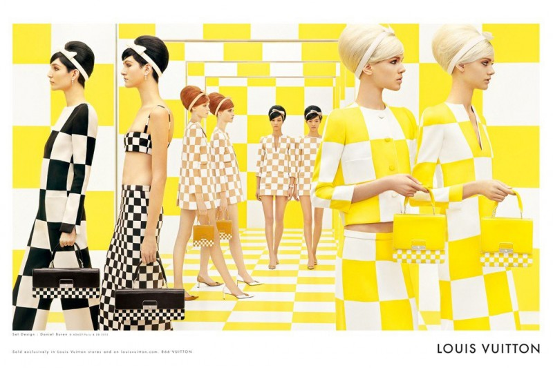 lv1 800x533 Louis Vuittons Spring 2013 Campaign Has Us Seeing Double