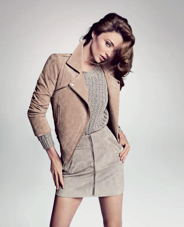 Miranda Kerr Sizzles in First Look of Mango's Spring 2013 Campaign by Inez & Vinoodh