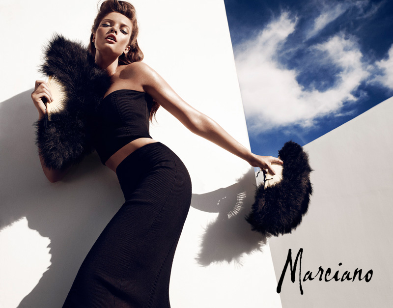 marciano holiday hunterandgatti 02 Sandrah Hellberg Smolders in Marcianos Holiday 2012 Campaign by Hunter & Gatti
