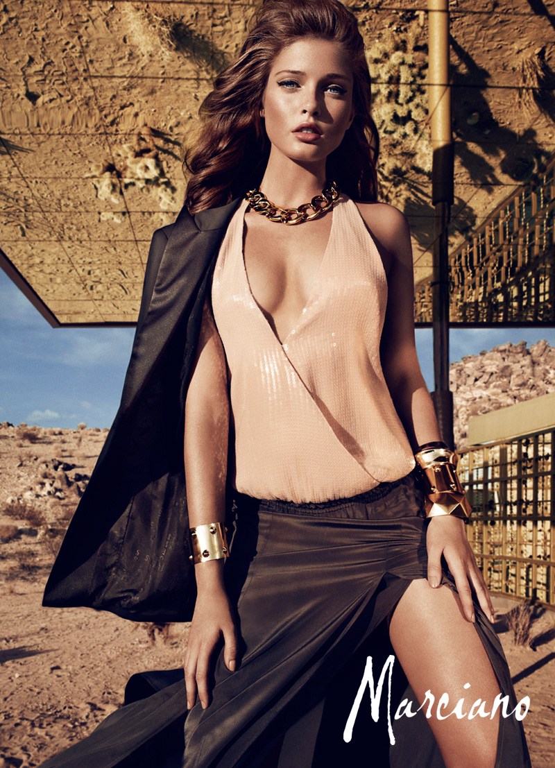 marciano holiday hunterandgatti 03 Sandrah Hellberg Smolders in Marcianos Holiday 2012 Campaign by Hunter & Gatti
