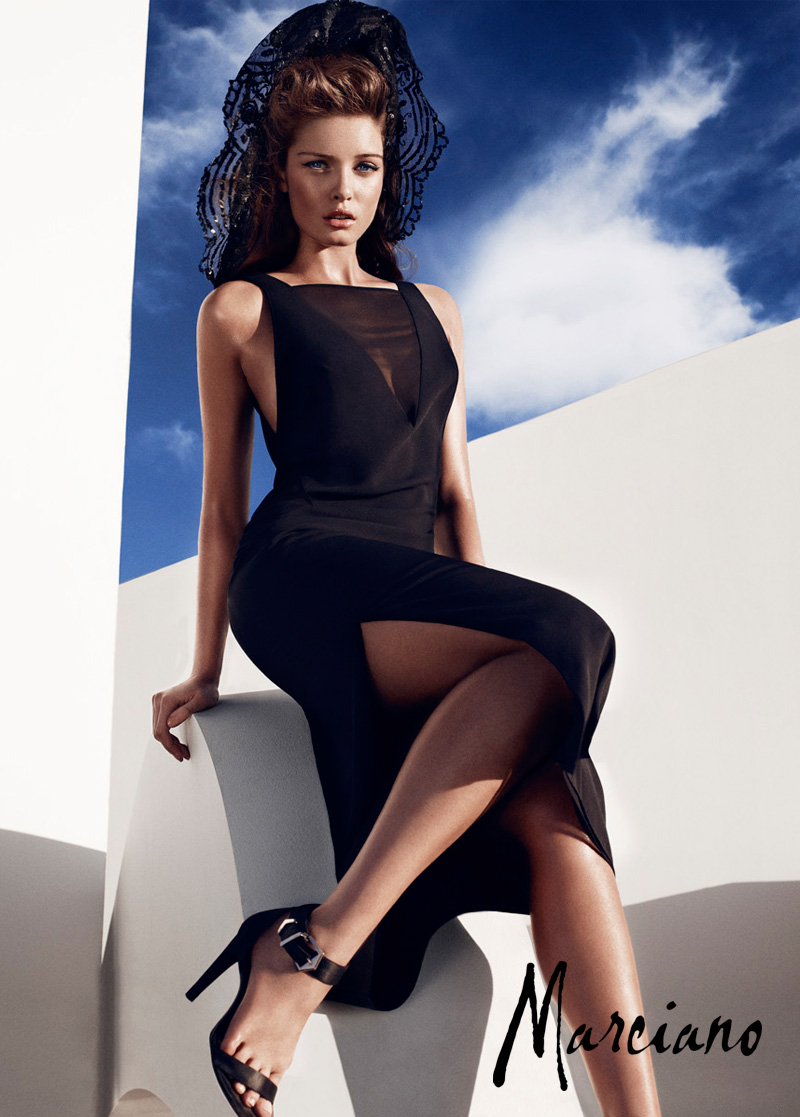 marciano holiday hunterandgatti 05 Sandrah Hellberg Smolders in Marcianos Holiday 2012 Campaign by Hunter & Gatti