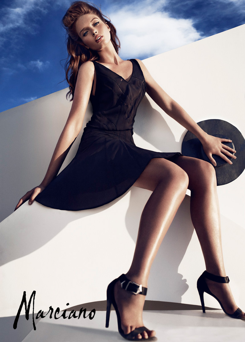 marciano holiday hunterandgatti 07 Sandrah Hellberg Smolders in Marcianos Holiday 2012 Campaign by Hunter & Gatti