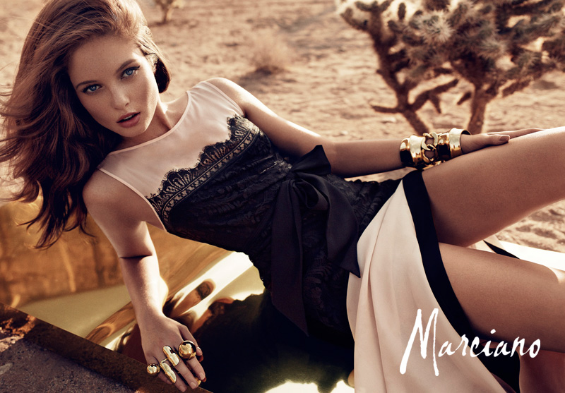 marciano holiday hunterandgatti 08 Sandrah Hellberg Smolders in Marcianos Holiday 2012 Campaign by Hunter & Gatti