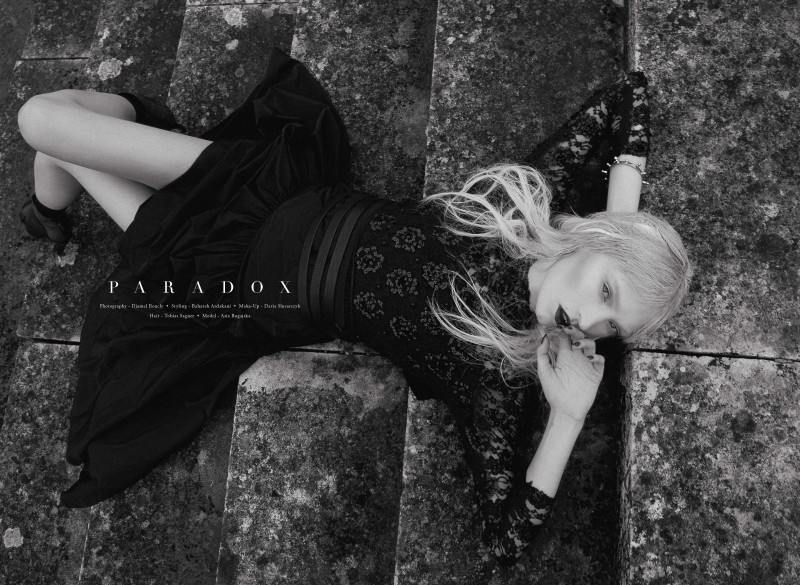 paradox1 Asia Bugajska Poses for Djamel Boucly in Revs #5