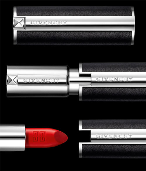 rouge3 Mariacarla Boscono Fronts Givenchy Le Rouge Makeup Campaign