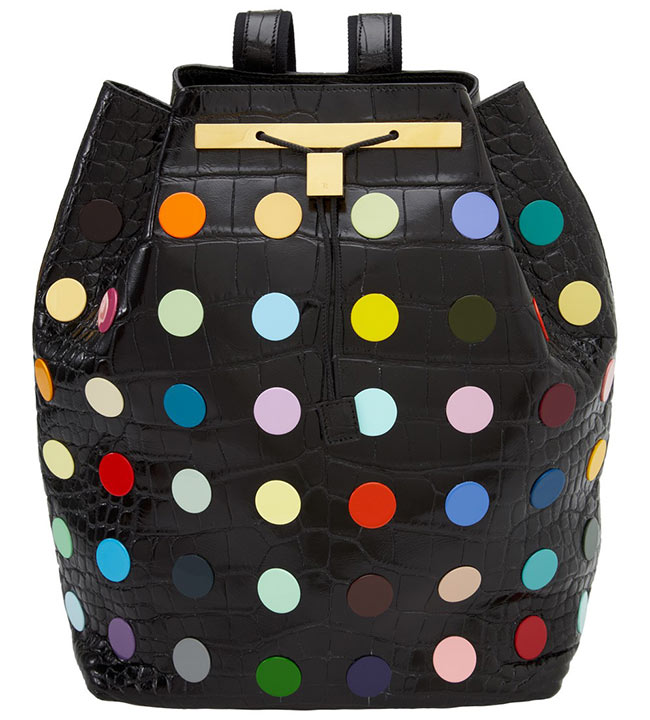 row1 Damien Hirst and The Row Collaborate on Decorated Backpacks for Just One Eye