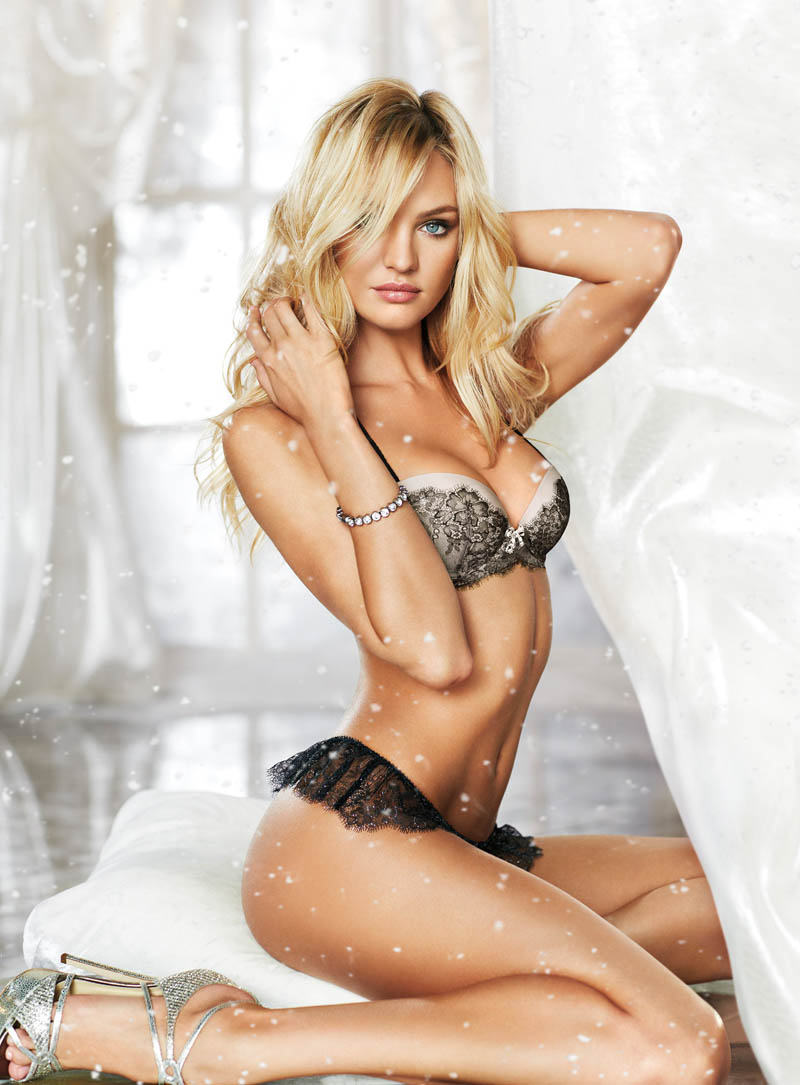 secret5 Candice Swanepoel, Miranda Kerr, Barbara Palvin and Others Star in Victorias Secret Holiday 2012