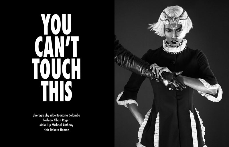 "Sessilee Lopez by Alberto Maria Colombo in ""You Can't Touch This"" for Fashion Gone Rogue"