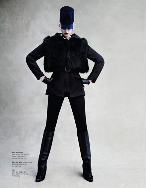 sigrid agren1 Sigrid Agren Wears Futuristic Outerwear for S Magazine