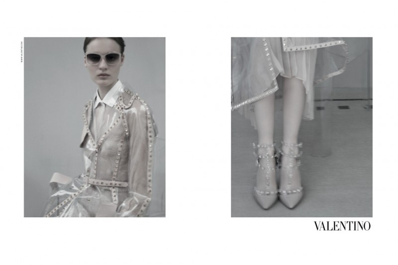 valentino 800x533 Valentino Taps Tilda Lindstam for its Spring 2013 Campaign by Sarah Moon