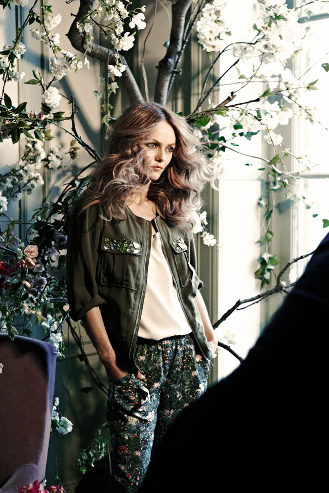 1043 Backstage 11 Vanessa Paradis to Star in H&Ms Spring Conscious Campaign