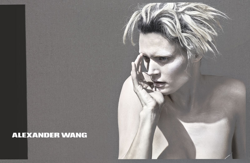AlexanderWang Spring2013WomensRTW 01 Alexander Wang Releases Teasers for Spring 2013 Campaign Starring Malgosia Bela